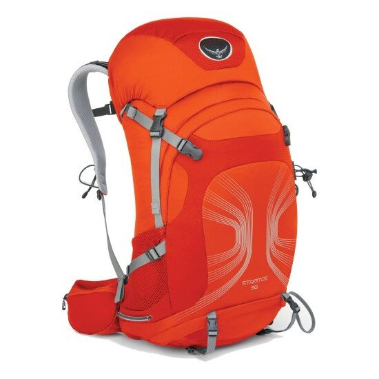 Рюкзак Osprey Stratos 36 Solar Flare Orange M/L 1
