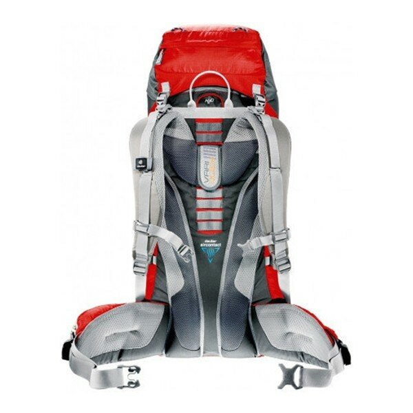 Рюкзак Deuter ACT Lite, 65+10 л, granite-fire 28612