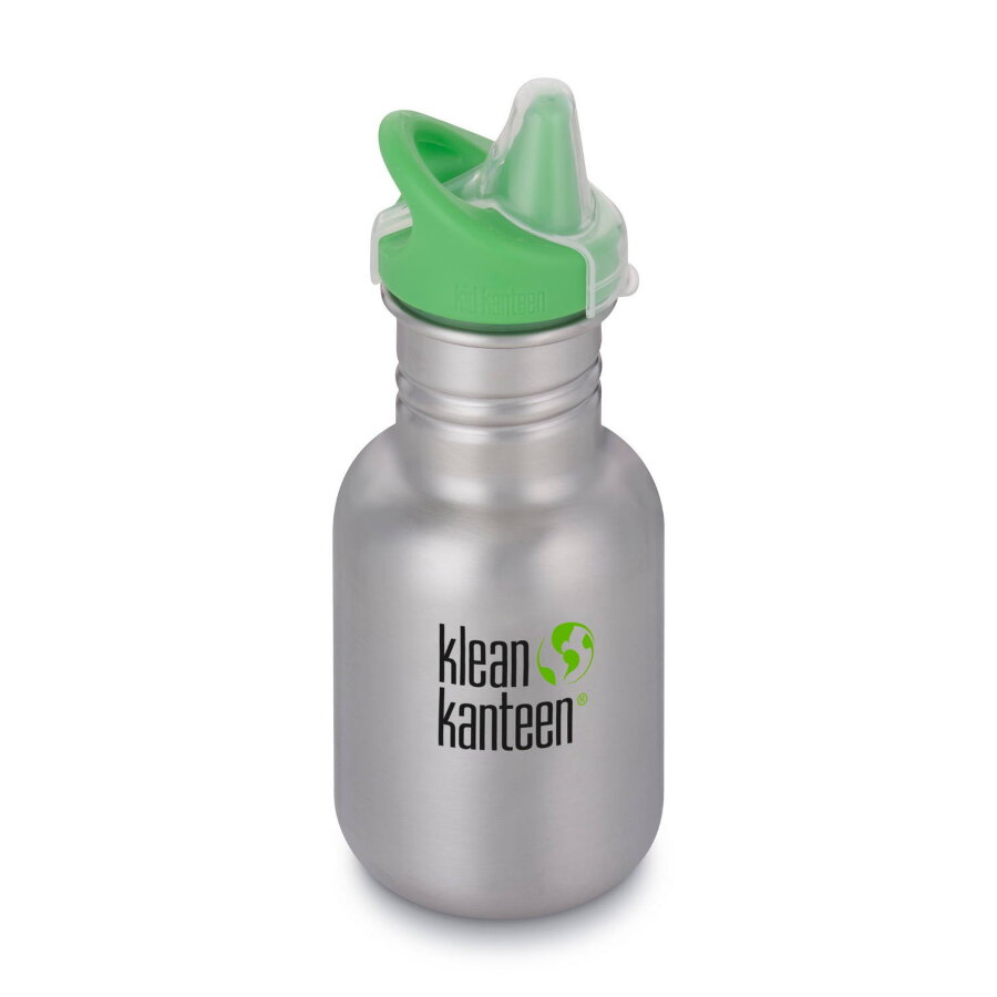 Фляга Kid Kanteen Classic Sippy Cap Brushed Stainless 355 мл 1