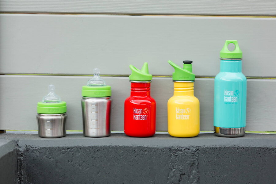 Фляга Kid Kanteen Classic Sippy Cap Brushed Stainless 355 мл 51042