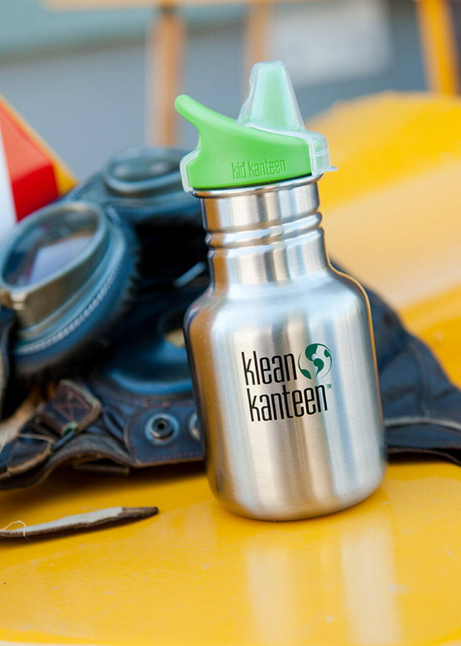 Фляга Kid Kanteen Classic Sippy Cap Brushed Stainless 355 мл 51047