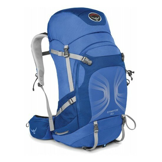 Рюкзак Osprey Stratos 50 Harbour Blue 1