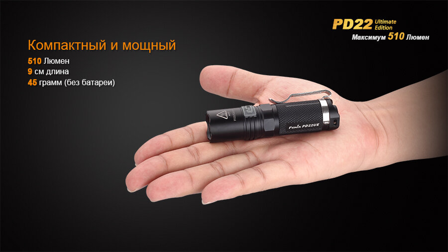 Фонарь Fenix PD22 Ultimate Edition 1595