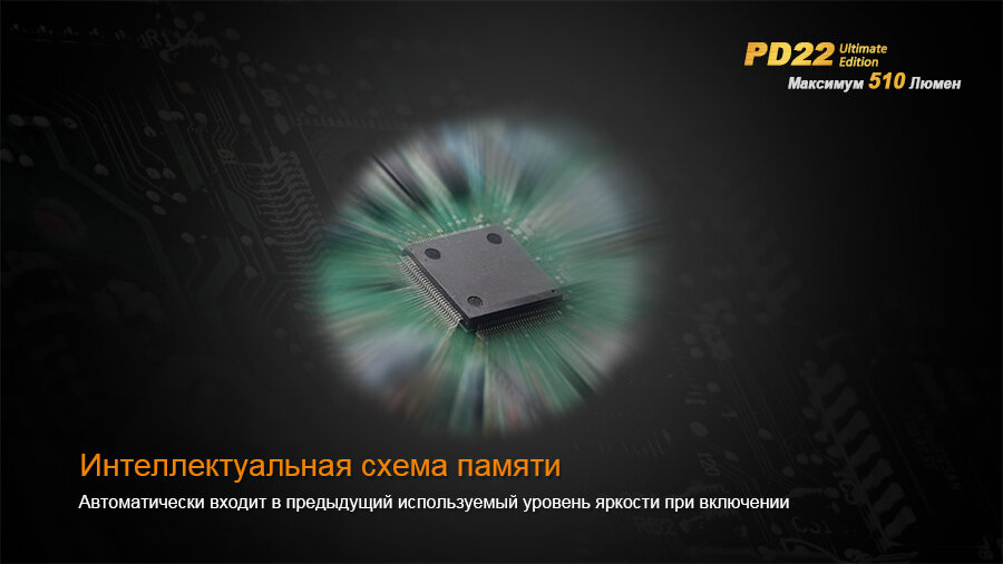 Фонарь Fenix PD22 Ultimate Edition 1606