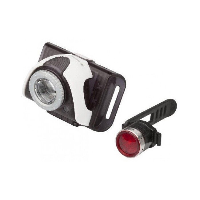 Набор велофонарей Led Lenser B3 + B2R Red 1