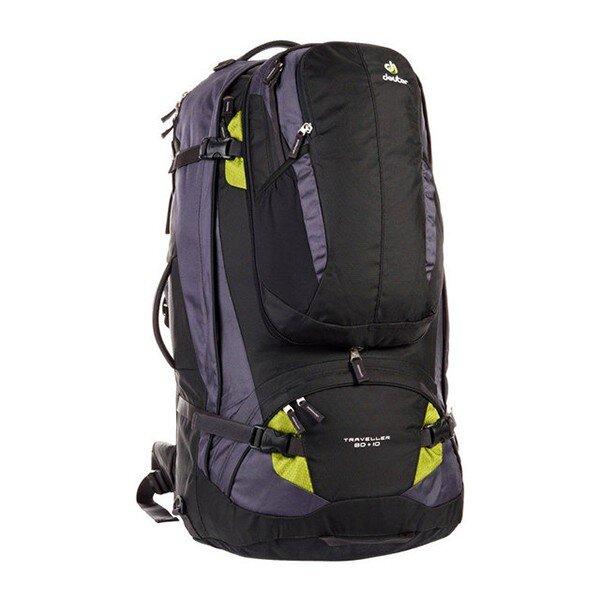 6fc69f0e2514 Рюкзак Deuter Traveller, 80+10 л, black-moss купить недорого в ...