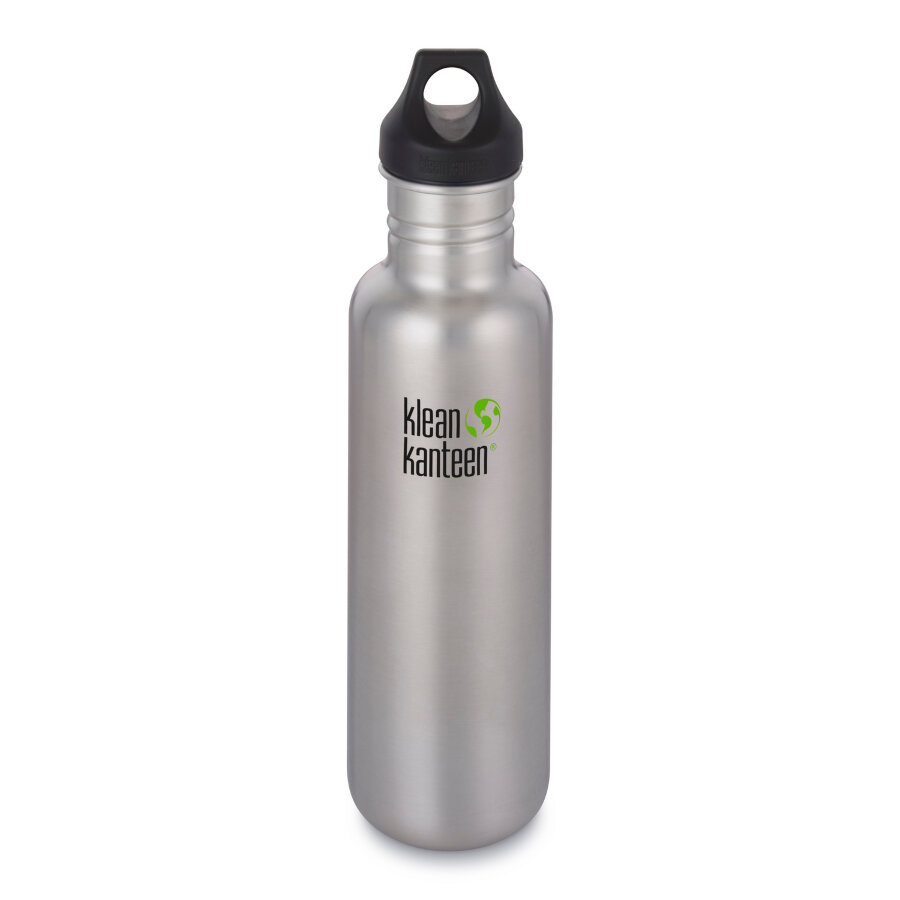 Фляга Klean Kanteen Classic Brushed Stainless 800 мл 1