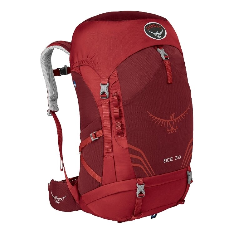 Рюкзак Osprey Ace 38 Paprika Red O/S 1