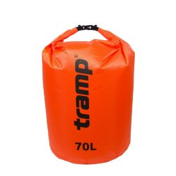 Гермомешок PVC Diamond Rip-Stop 70л Tramp TRA-209-orange