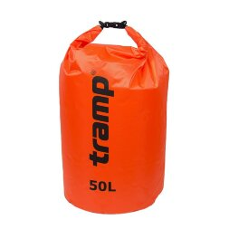 Гермомешок PVC Diamond Rip-Stop 50л Tramp TRA-208-orange