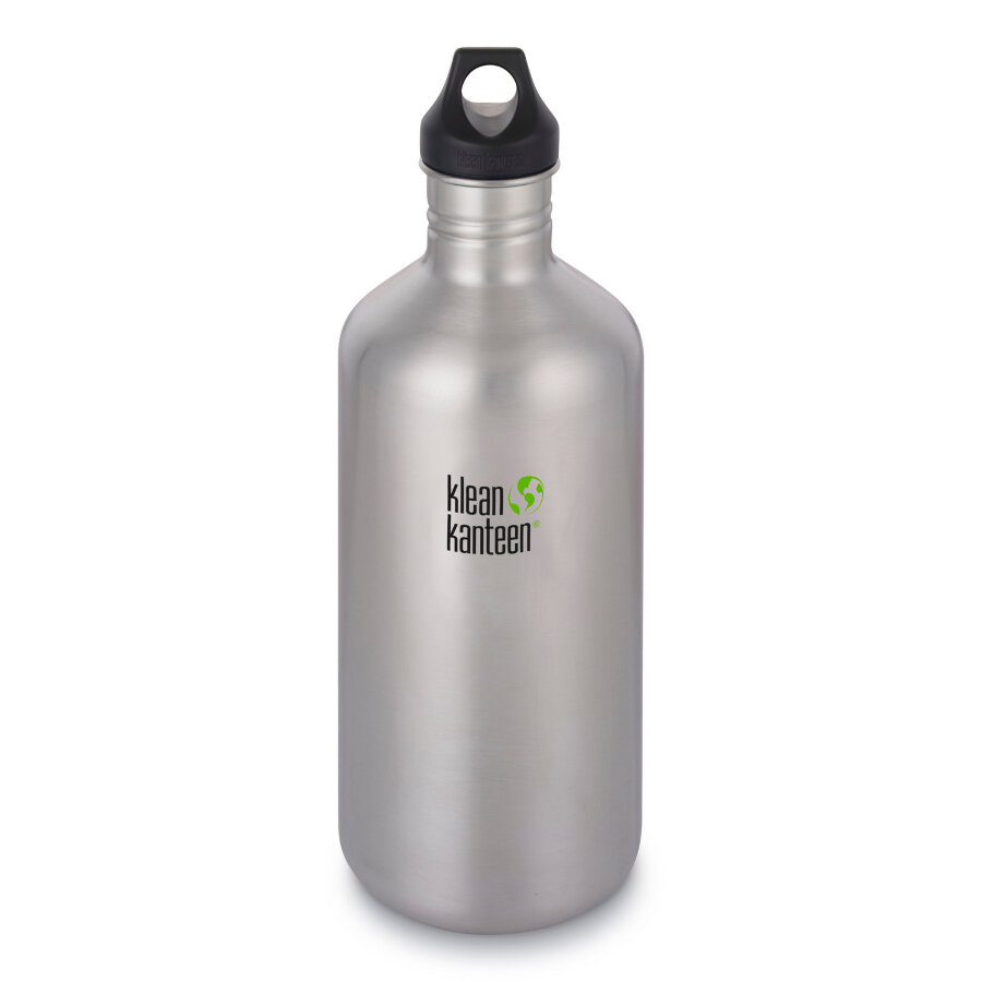 Фляга Klean Kanteen Classic Brushed Stainless 1900 мл 1