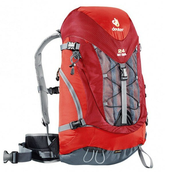 Рюкзак Deuter ACT Trail, 24 л, fire-cranberry 28651