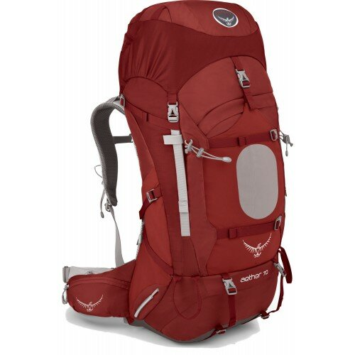 Рюкзак Osprey Aether 70 Arroyo Red 1