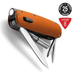 Мультитул-фонарик Gerber Fit Light Tool Orange (31-000919)