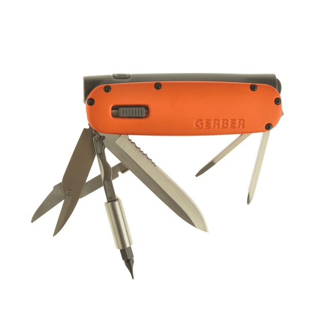 Мультитул-фонарик Gerber Fit Light Tool Orange (31-000919) 5683