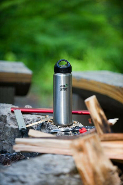 Фляга Klean Kanteen Wide Brushed Stainless 800 мл 51168