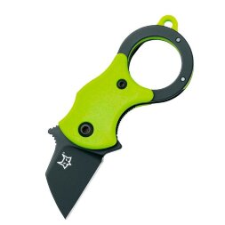 Нож Fox Mini-TA Black Blade Green FX-536GB