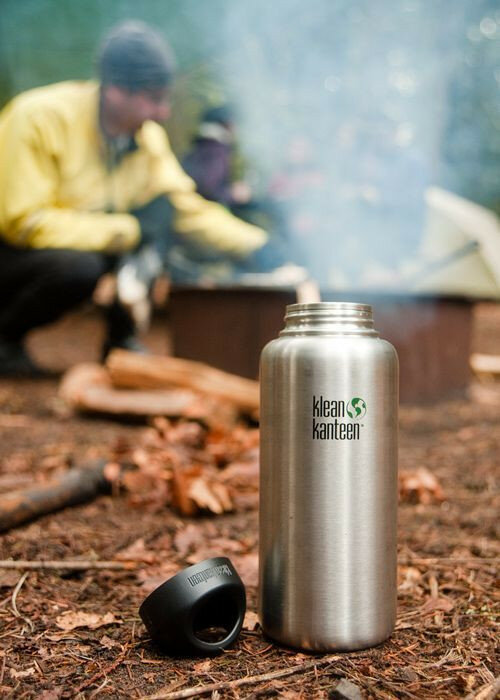 Фляга Klean Kanteen Wide Brushed Stainless 1182 мл 51175
