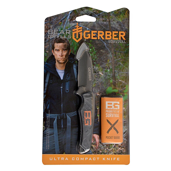 Нож Gerber Bear Grylls Ultra Compact Knife (31-001516) 7052