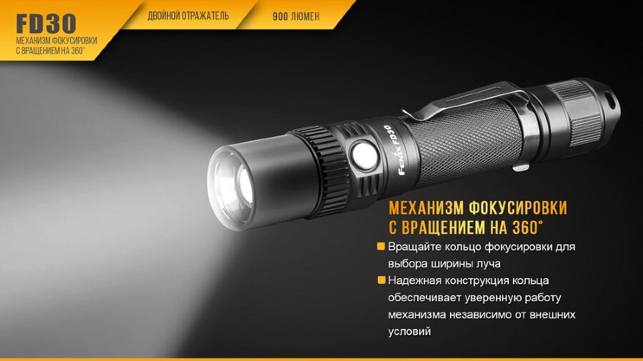 Фонарь Fenix FD30 Cree XP-L HI LED 30428