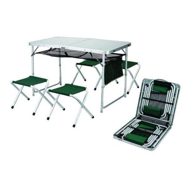 Компактный столик и складывающиеся стулья Ranger TA 21407+FS21124 ...