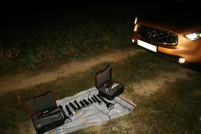 Тест фонарей