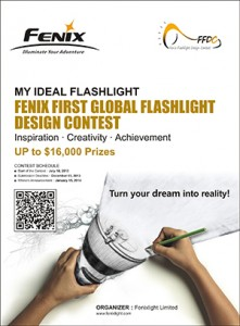 Fenix-first-global-flashlight-design-contest