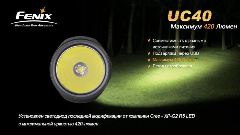UC40-Максимум 420 Люмен