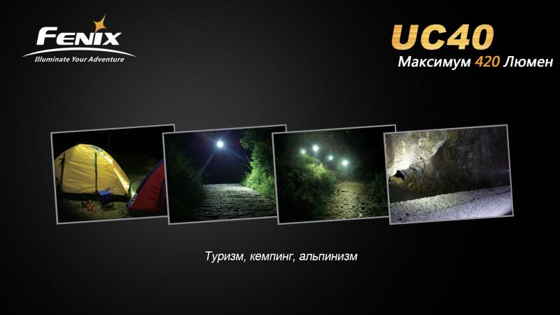 UC40-Туризм, кемпинг, альпинизм