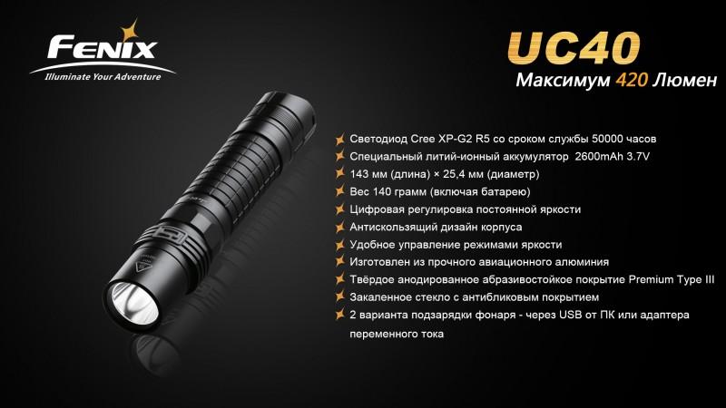 UC40-Функции